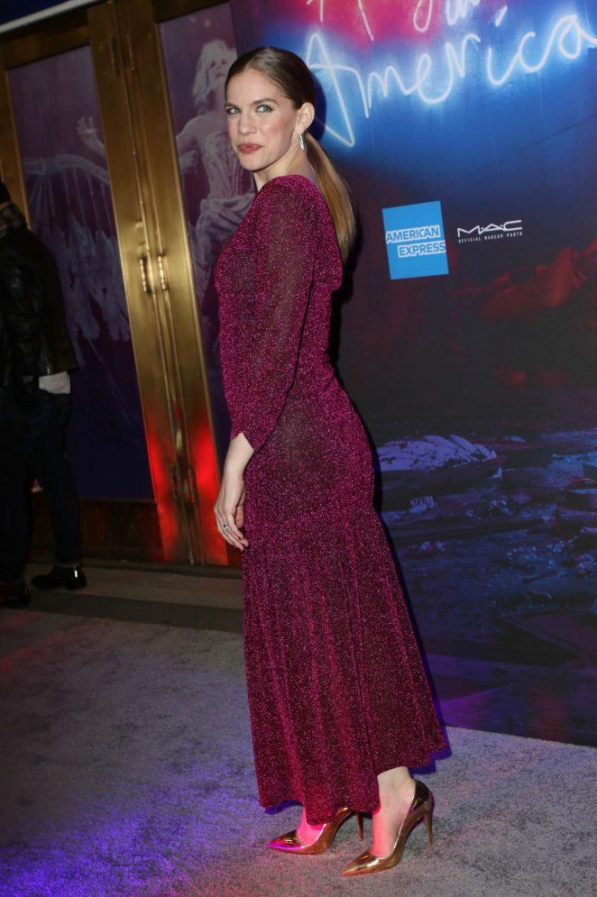 Anna Chlumsky - 'Angels in America' Broadway Opening Night in NYC