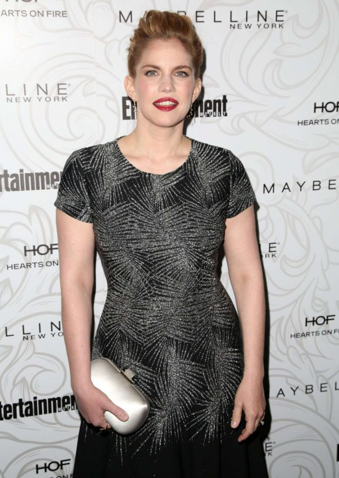 Anna Chlumsky - Entertainment Weekly Celebration of SAG Award Nominees in Los Angeles