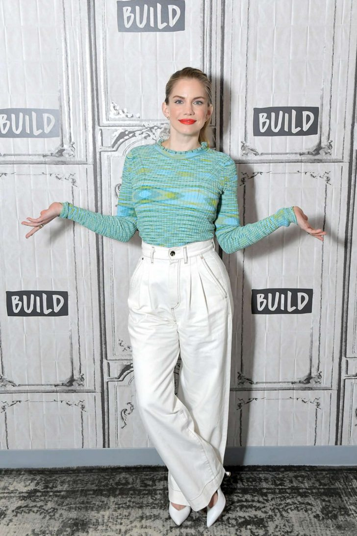 Anna Chlumsky - On AOL BUILD Studio to discuss the final season of 'Veep' in NYC