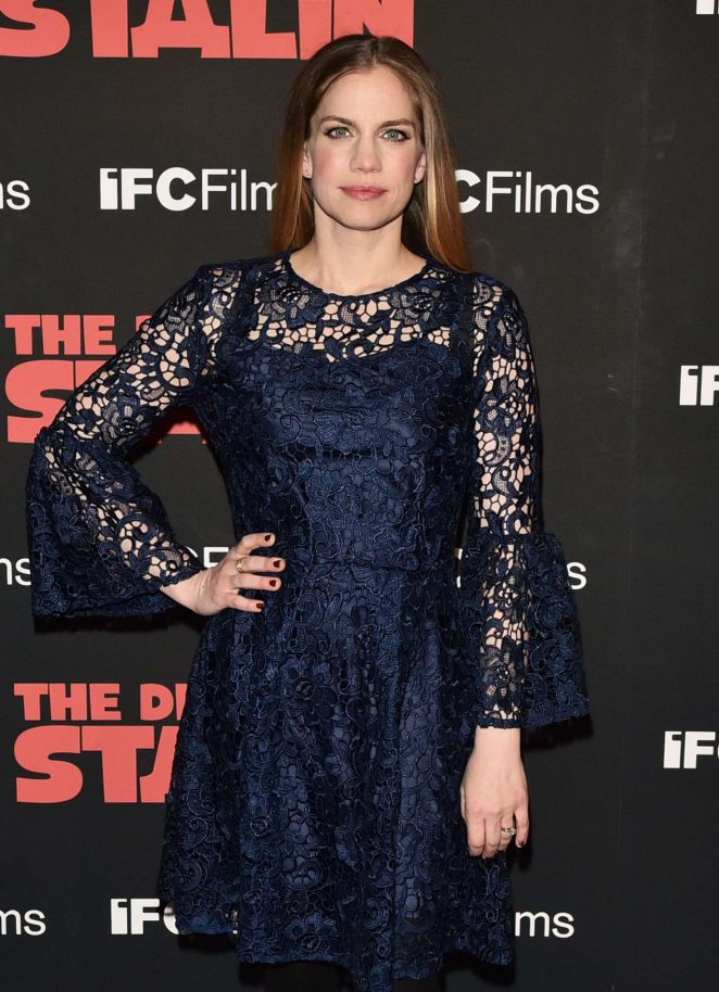 Anna Chlumsky - 'The Death of Stalin' Premiere in New York