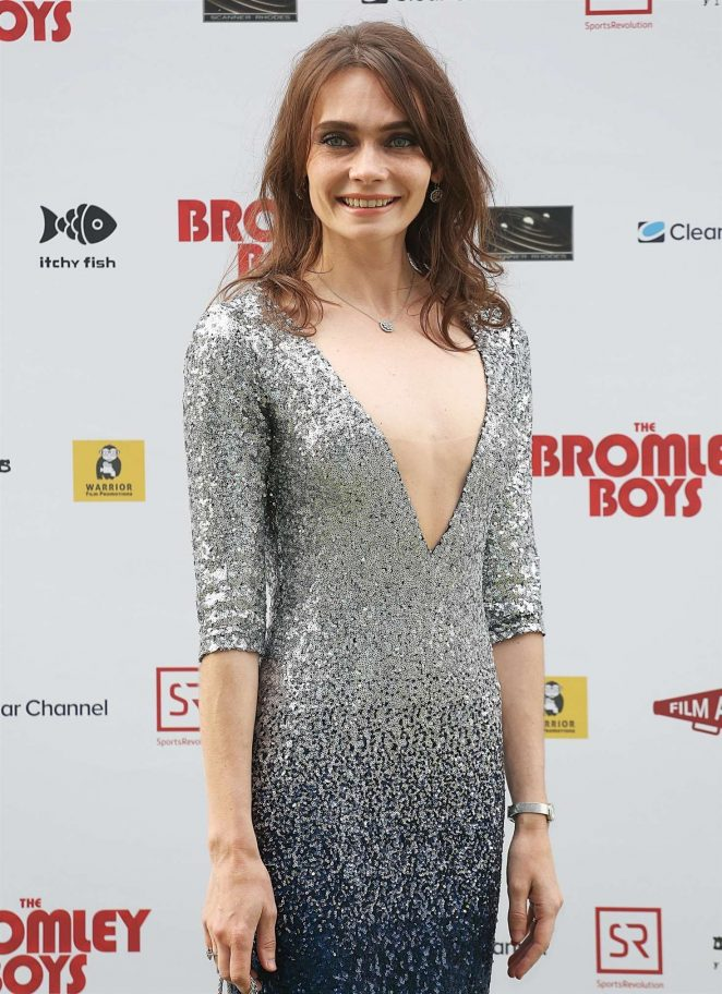 Anna Danshina - 'Bromley Boys' Premiere in London