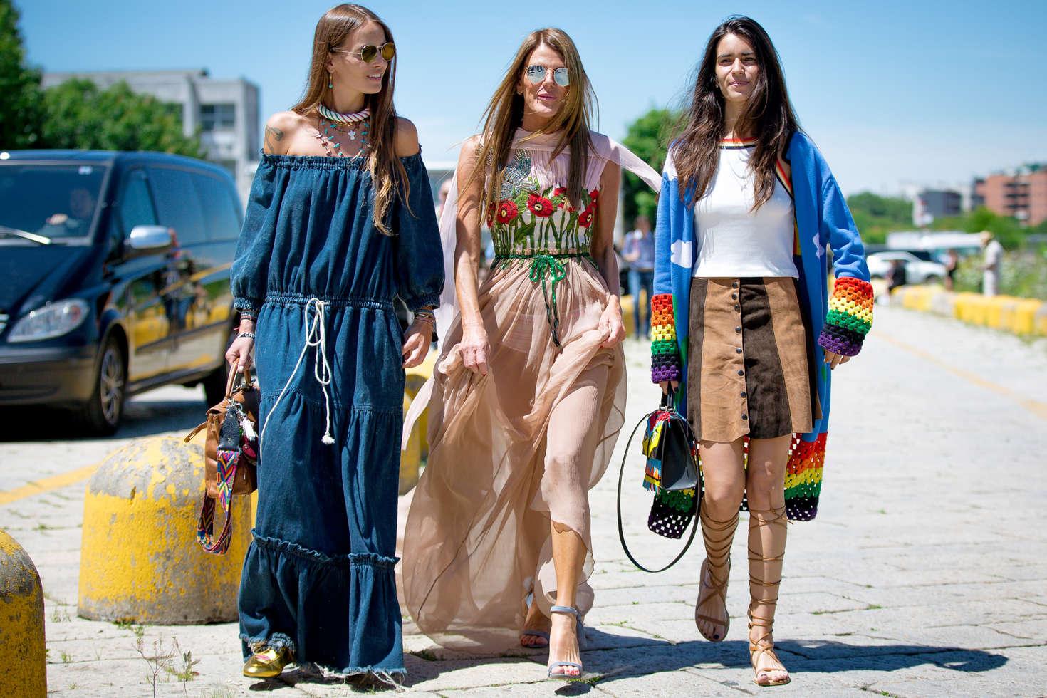 Anna dello russo gucci fashion show 2016 01 gotceleb for Milan show 2016