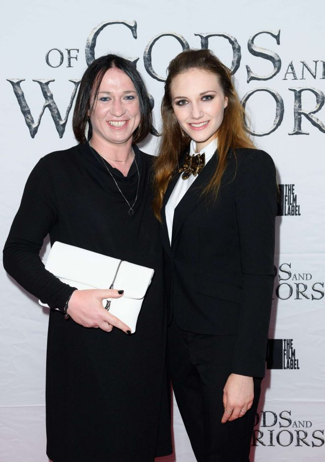 Anna Demetriou - 'Of Gods and Warriors' Premiere in London