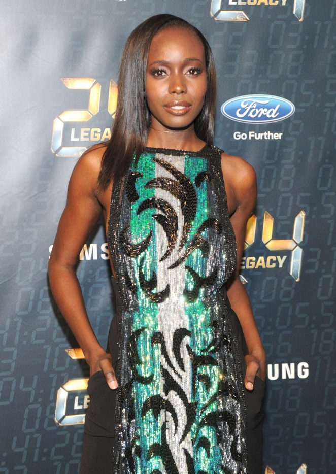 Anna Diop - '24: Legacy' Premiere Event in New York