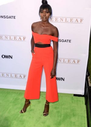 Anna Diop - 'Greenleaf' Premiere in West Hollywood