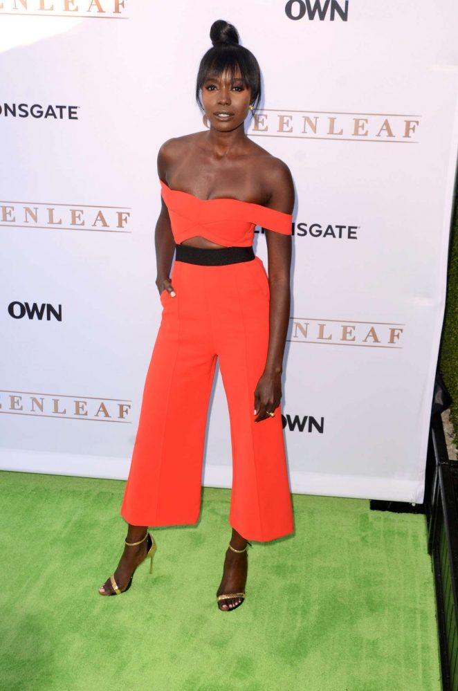 Anna Diop - 'Greenleaf' Premiere in West Hollywood