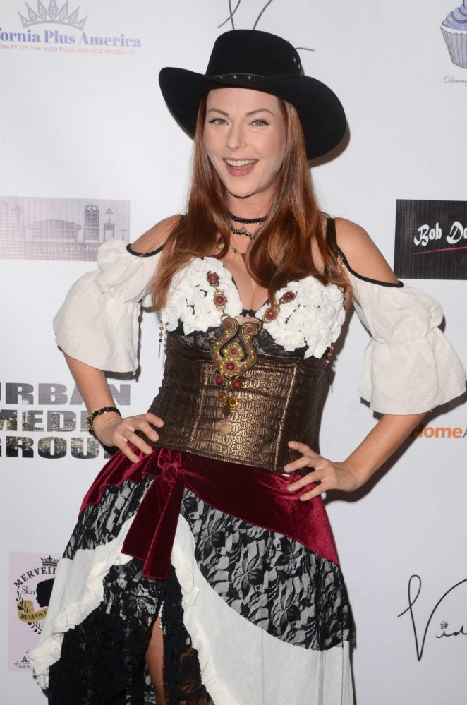 Anna Easteden at Halloween Hotness 4: Heating Up For The Cure in Hollywood