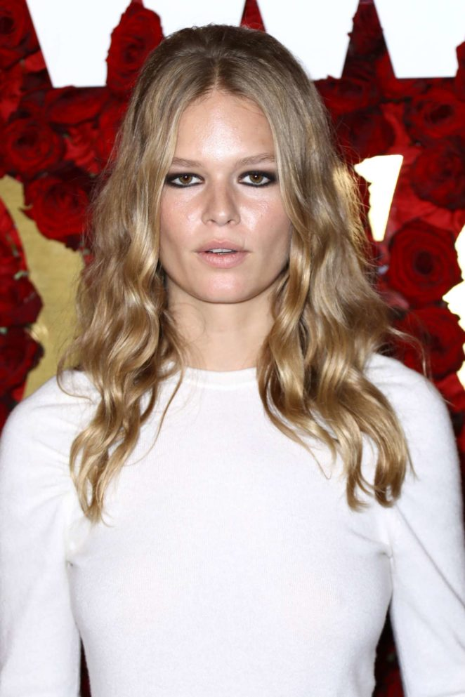 Anna Ewers - 2nd Annual WWD Honors in New York