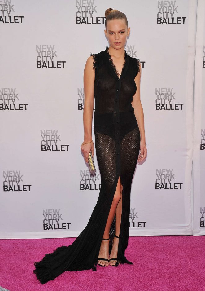 Anna Ewers - New York City Ballet 2016 Fall Gala in New York
