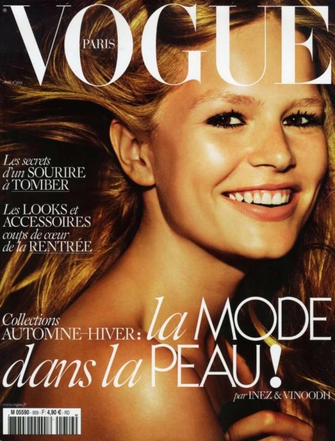 Anna Ewers - Vogue Paris Magazine (August 2015)