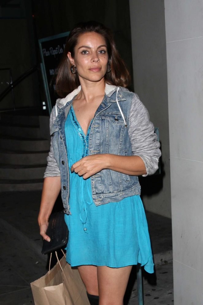 Anna Fantastic at Catch restaurant in West Hollywood