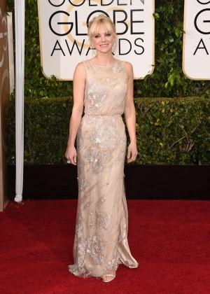 Anna Faris - 2015 Golden Globe Awards in Beverly Hills