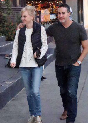 Anna Faris and Michael Barrett out in Venice
