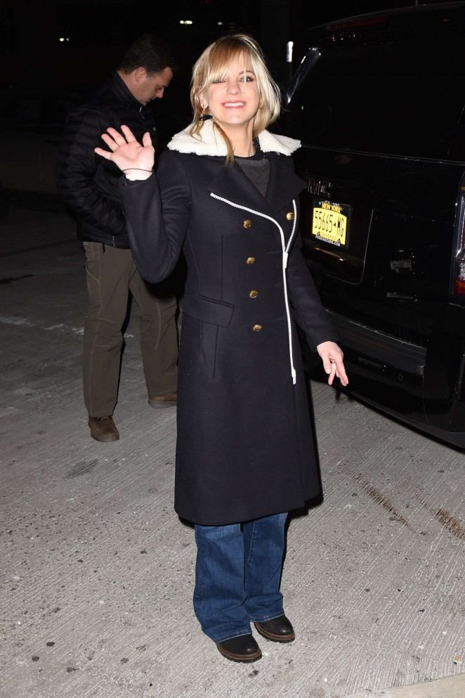 Anna Faris - Arriving at JFK Airport in NYC