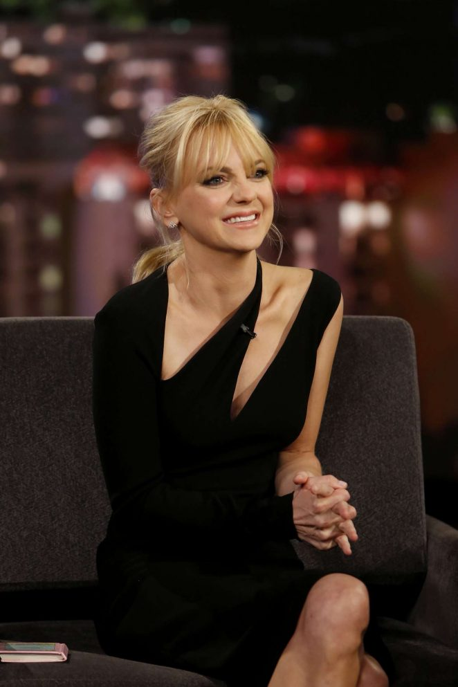 Anna Faris at Jimmy Kimmel Live! in Los Angeles
