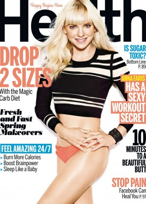 Anna Faris - Health Magazine (April 2015)