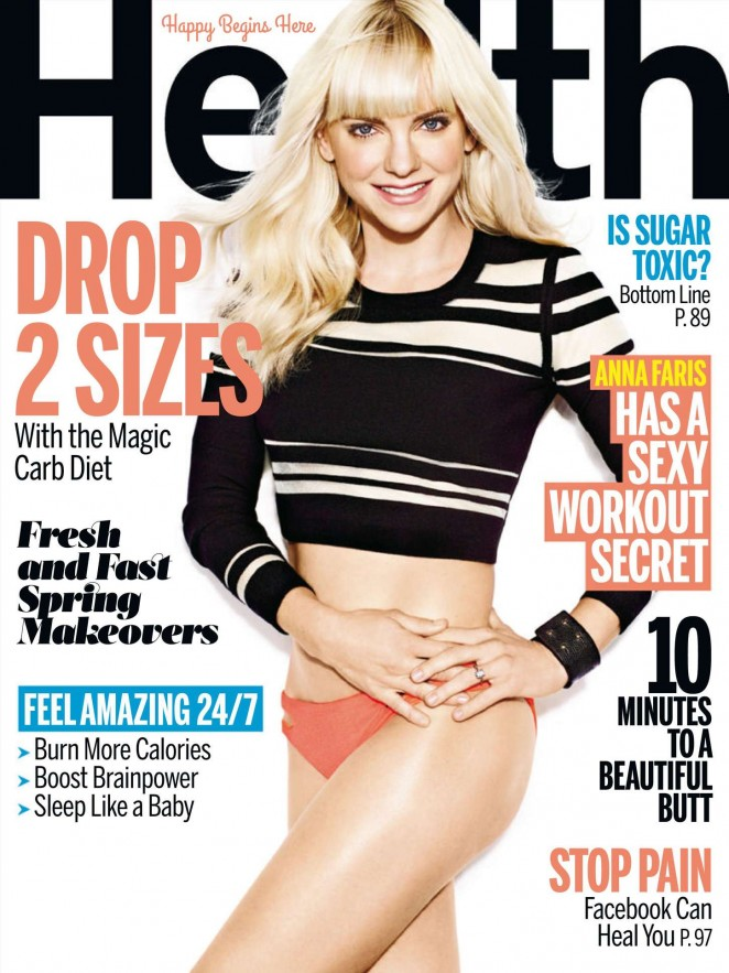 Anna Faris – Health Magazine (April 2015)
