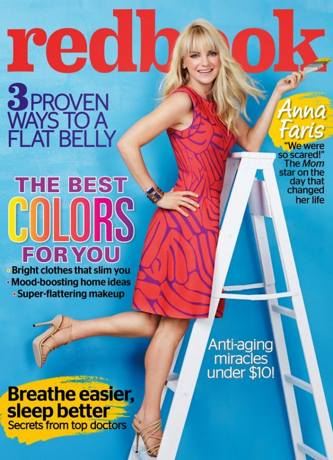 Anna Faris - Redbook Magazine (March 2015)