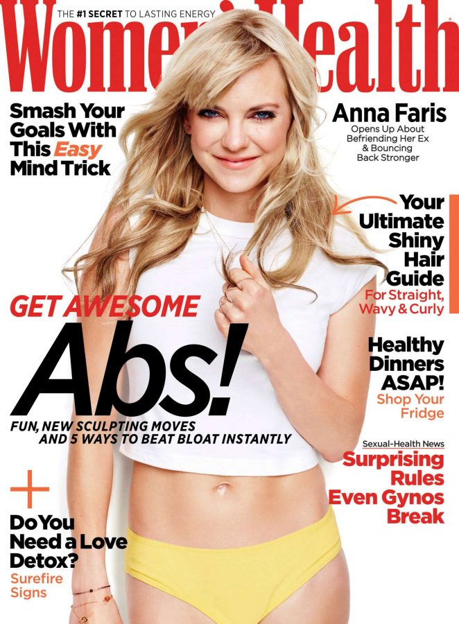 Anna Faris - Women's Health Magazine (May 2018)