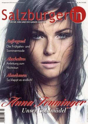 Anna Fenninger - Salzburgerin Austria Magazine (March 2015)