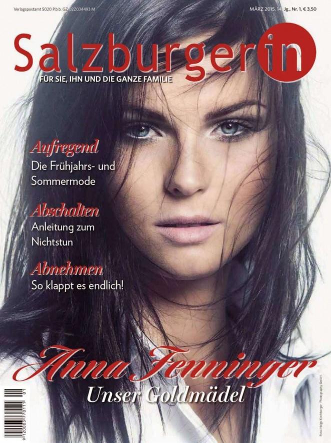 Anna Fenninger – Salzburgerin Austria Magazine (March 2015)