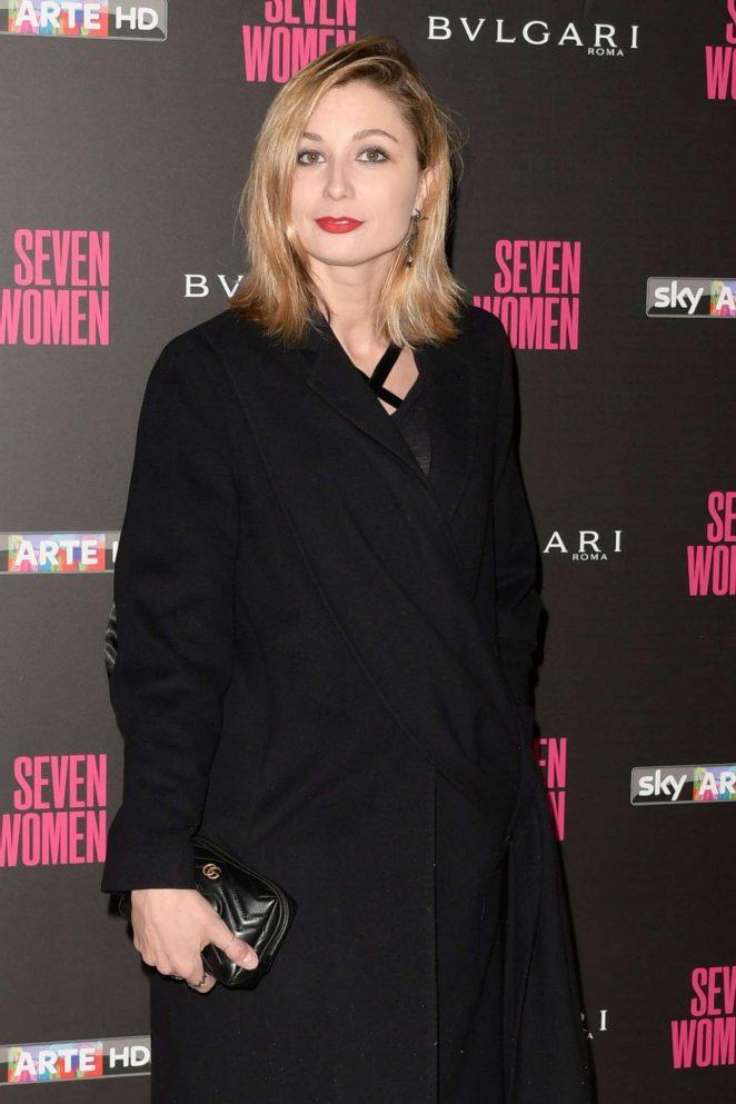 Anna Ferzetti - 'Seven Women' Documentary Premiere in Rome