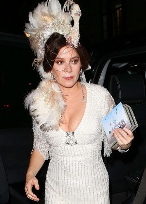 Anna Friel at Animal Ball Party in London