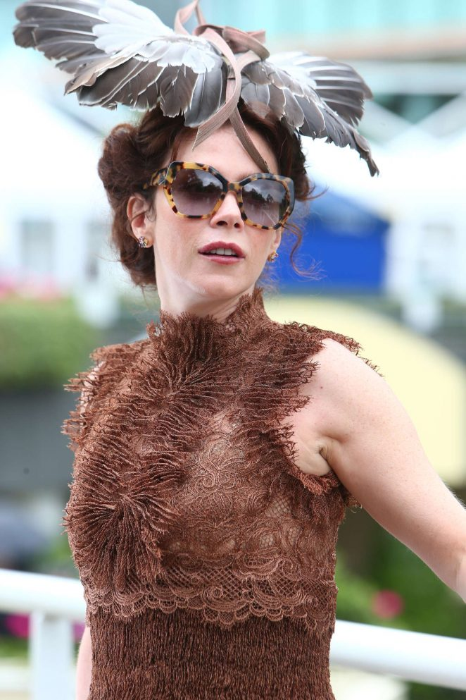 Anna Friel - Day 4 of Royal Ascot at Ascot Racecourse in Ascot