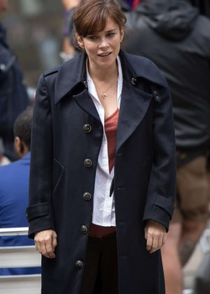 Anna Friel on 'Marcella' Set in London