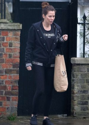 Anna Friel - Out in Windsor