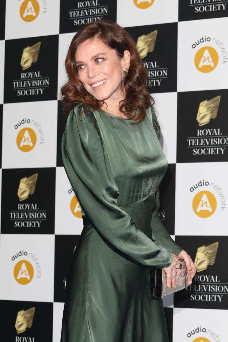 Anna Friel - Royal Television Society Awards 2019 in London