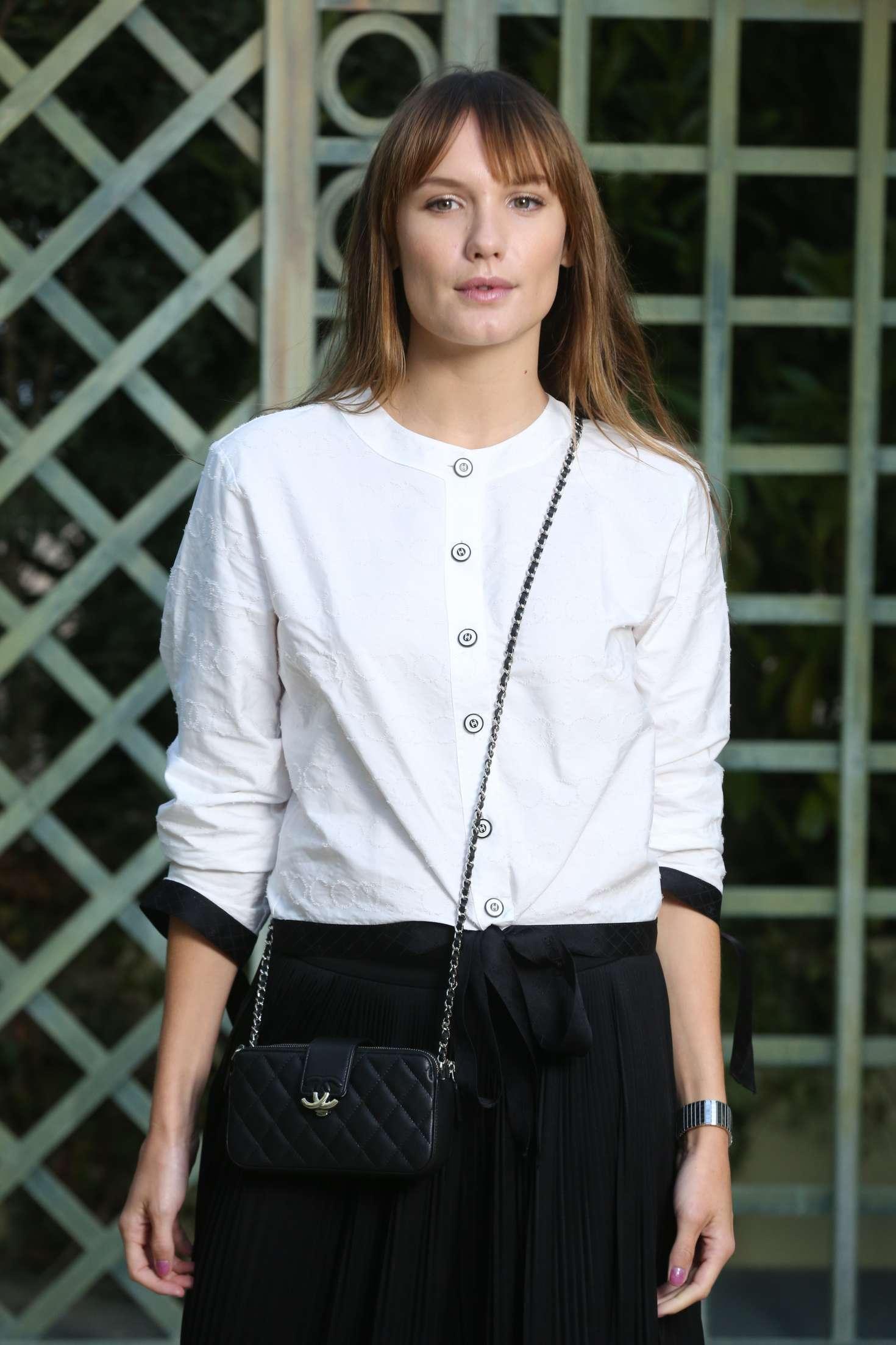 Anna Girardot - Chanel Haute Couture SS 2018 Show in Paris