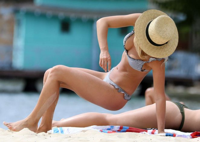 Anna Heinrich in Bikini at Seven Shillings Beach in Sydney
