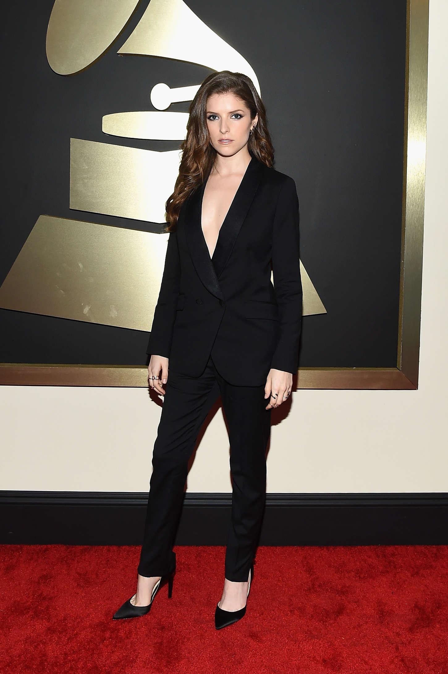 Anna Kendrick 2015 : Anna Kendrick: 2015 GRAMMY Awards -07