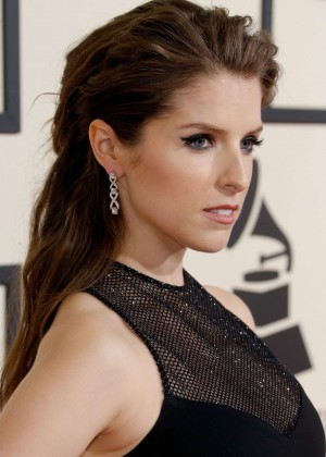Anna Kendrick – 58th Annual GRAMMY Awards in Los Angeles  Anna Kendrick