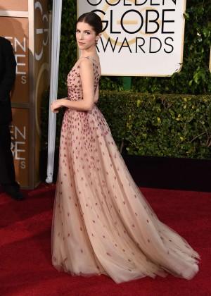 Anna Kendrick - 2015 Golden Globe Awards in Beverly Hills