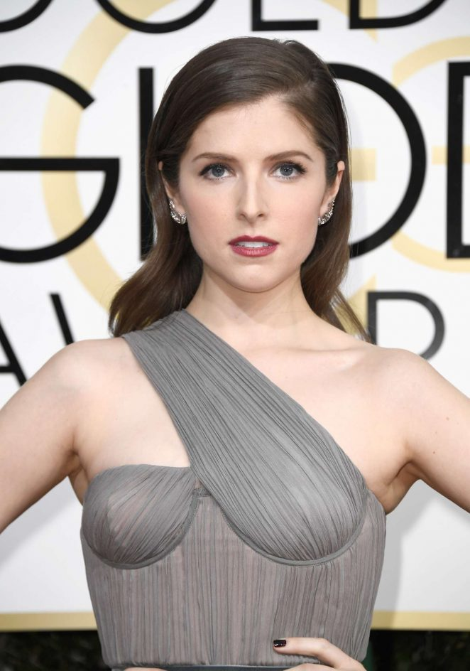 Anna Kendrick - 74th Annual Golden Globe Awards in Beverly Hills