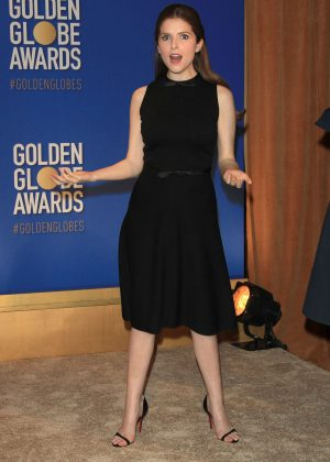 Anna Kendrick - 74th Golden Globe Awards Nominations in Beverly Hills