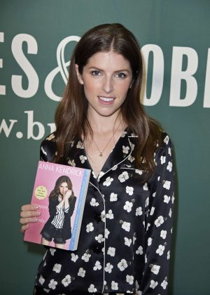 Anna Kendrick at Barnes and Noble to promote her new book 'Scrapy Little Nobody' in NYC