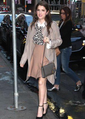 Anna Kendrick at 'Good Morning America' in New York City