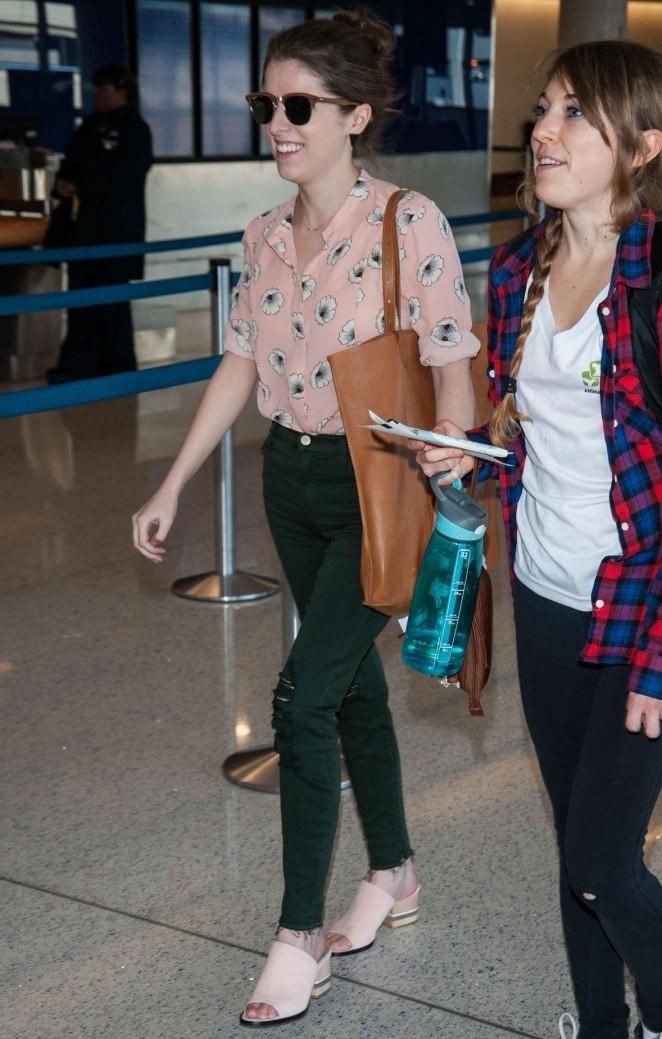 Anna Kendrick at LAX Airport -08