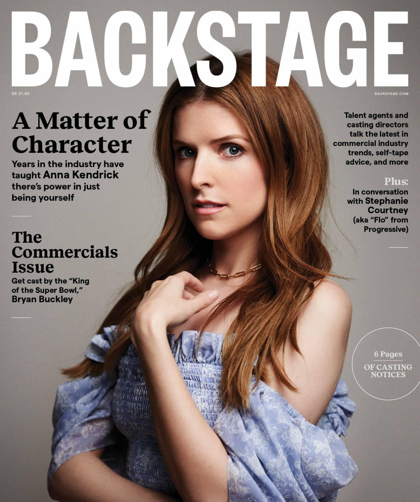 Anna Kendrick 2020 : Anna Kendrick – Backstage Magazine 2020-01