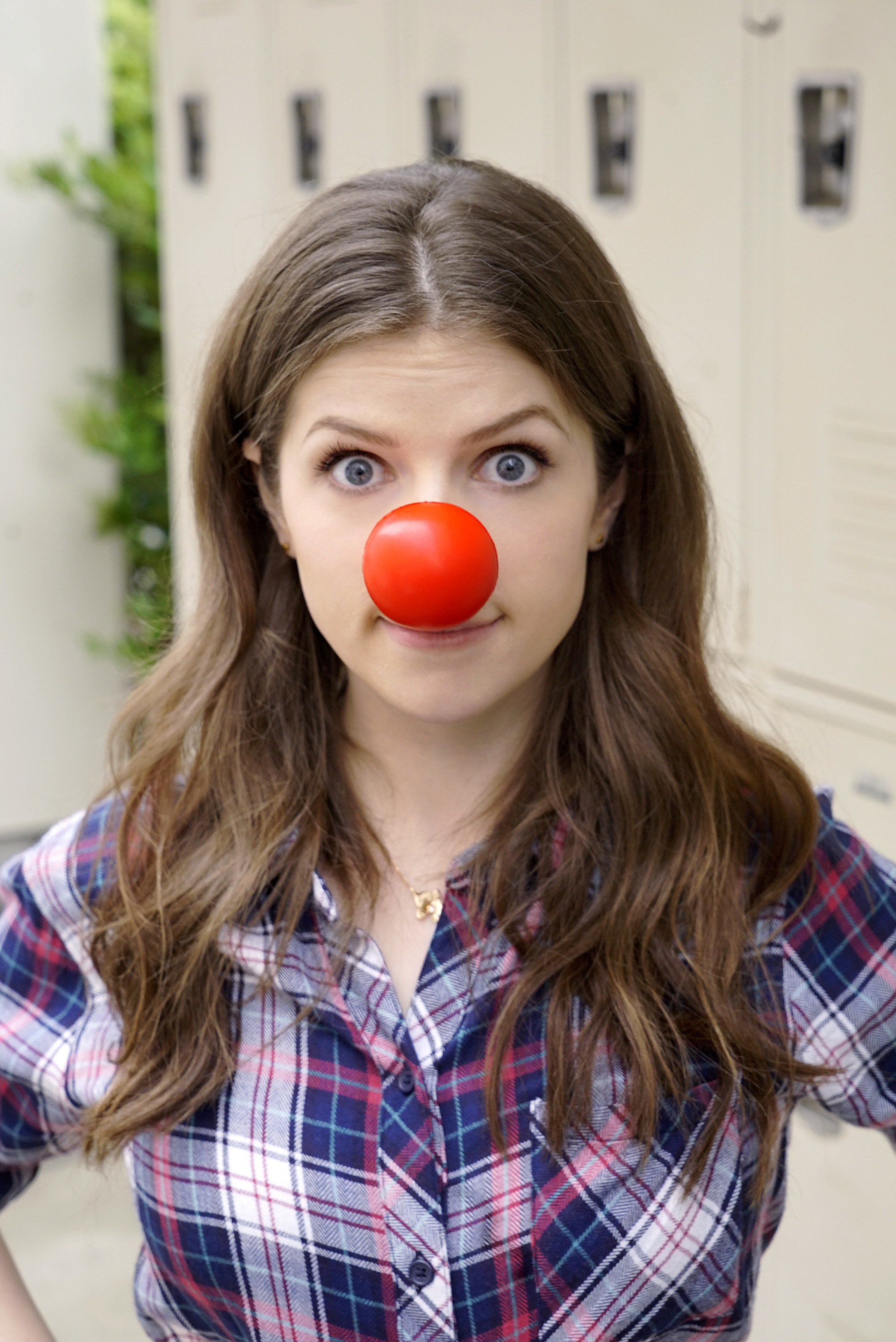 anna kendrick  u2013 chris haston shoot for the red nose day