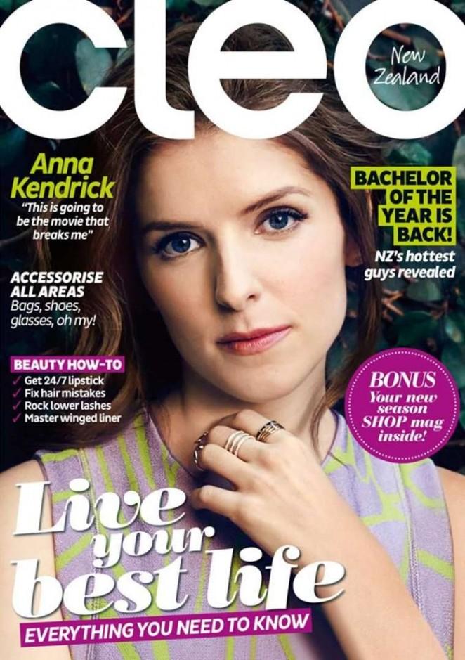 Anna Kendrick - Cleo Magazine (May 2015)