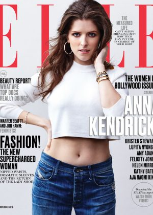Anna Kendrick - ELLE US Cover (November 2016)