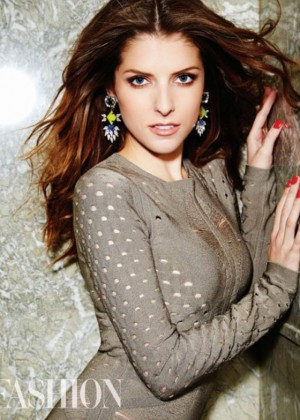 Anna Kendrick - Fashion Magazine (February 2015)
