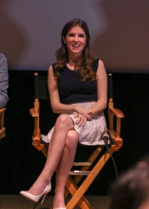 Anna Kendrick - Filmmakers Hosted Preview of 'Trolls' in California