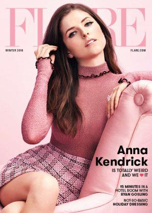 Anna Kendrick - Flare Magazine (Winter 2016)