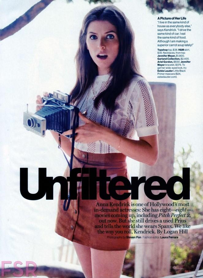 Anna Kendrick - Glamour US Magazine (June 2015)