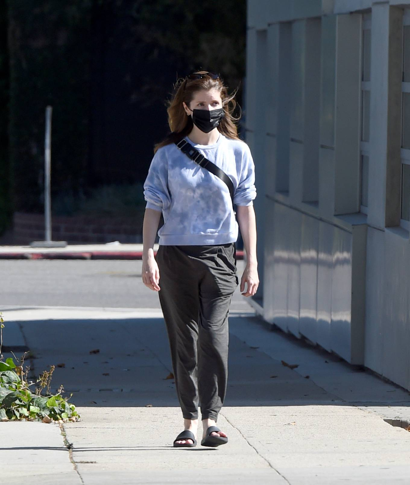 Anna Kendrick 2021 : Anna Kendrick – Is pictured out on a stroll in Los Angeles-10